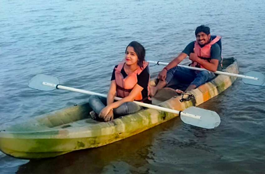 kayaking places in hyderabad