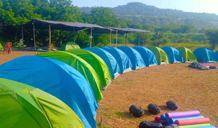Night Camping in Ananthagiri Hills