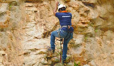 Basic Rock Climbing Course