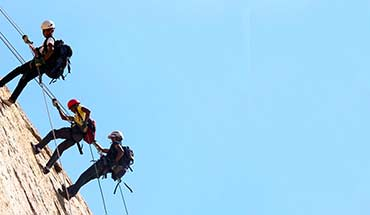 Rappelling At Bhongir Fort