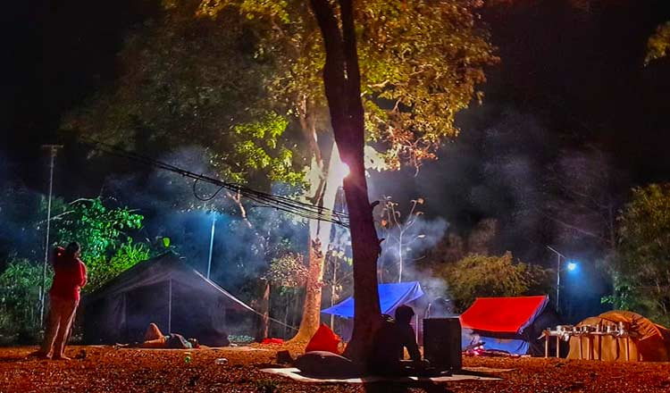Night Camping in Laknavaram