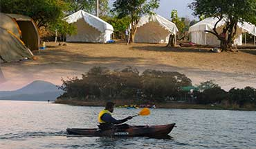 Kayaking in Laknavaram