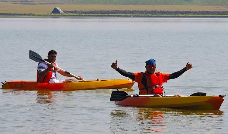 Kayaking in Anantagiri